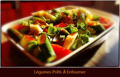 Légumes Prêts A Enfourner