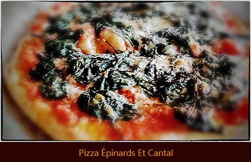 Pizza Épinards Et Cantathb