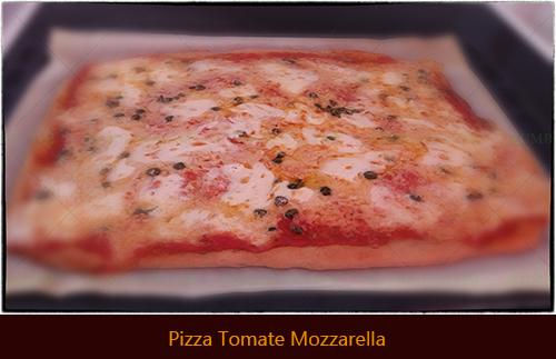 Pizza Tomate Mozzarellathb