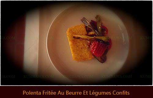 Polenta Fritée Au Beurre Et Légumes Confitsthb