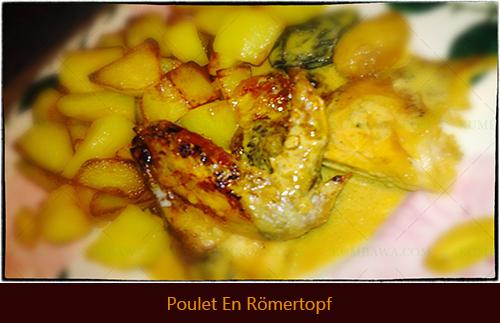 Poulet En Römertopfyhb