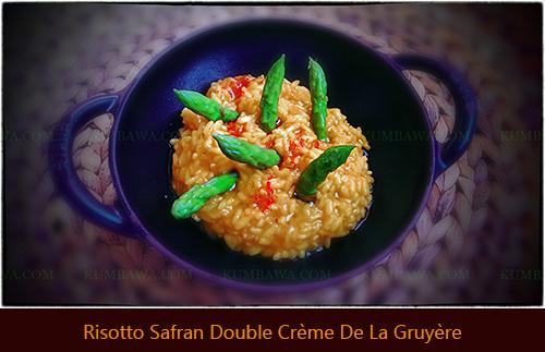 Risotto Safran Double Crème De La Gruyèrethb