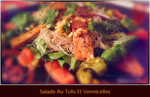 Salade Thaï Tofu Et Vermicellesthb
