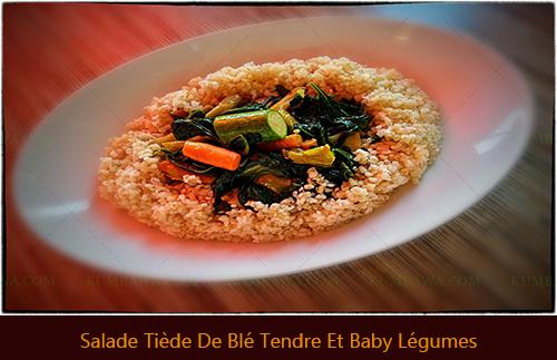 Salade Tiède De Blé Tendre Et Baby Légumesthb