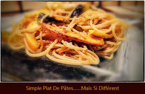 Simple Plat De Pâtes......Mais Si Différent.thb