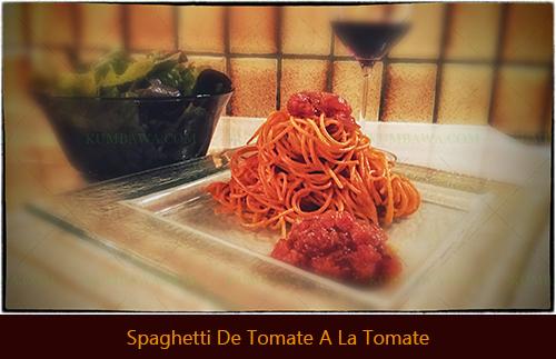Spaghetti De Tomate A La Tomatethb