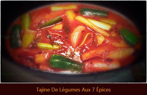 Tajine de Légumes 7 Épicesthb