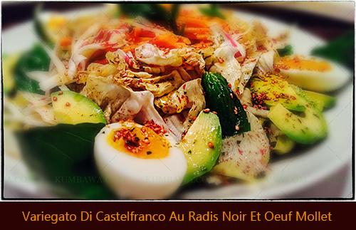 Variegato Di Castelfranco Au Radis Noir Et Oeuf Molletthb