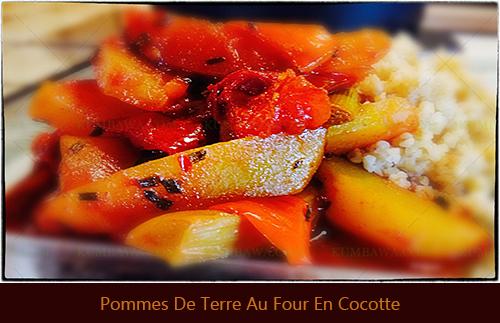 2 Pommes De Terre Au Four En Cocotte