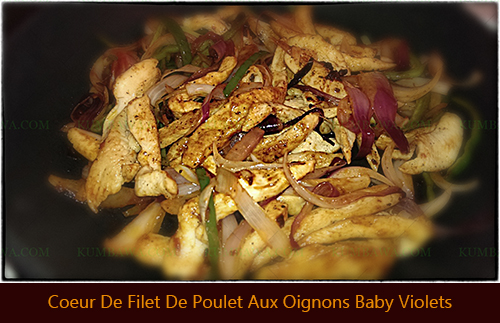 Coeur De Filet De Poulet Aux Oignons Baby Violetthb