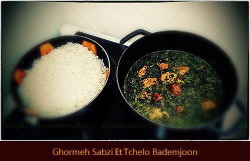 Ghormeh SabziTchelo Bademjoon thb