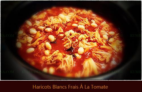 Haricots Blancs Frais A La Tomate