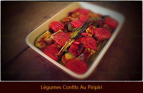 Légumes Confits Au Piripiri
