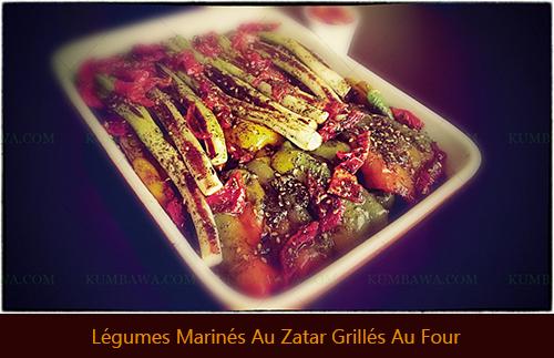 Légumes Marinés Au Zatar Grillés Au Fourthb