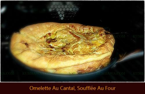 Omelete Au Cantal Soufflée Au Four