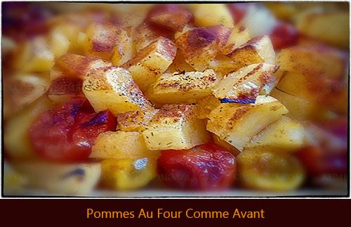 Pommes Au Four Comme Avant