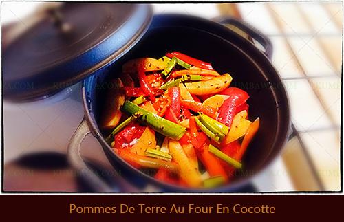 Pommes De Terre Au Four En Cocotte