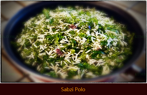 Sabzi Polo 1thb