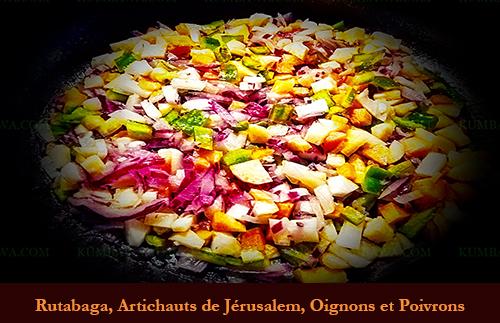 Rutabaga, Artichaud De Jerusalém, Oignon Et Poivron