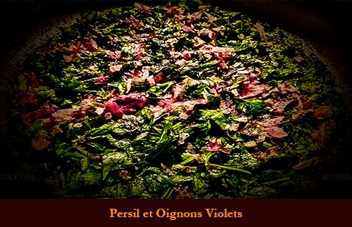 Persil Et Oignon Violet
