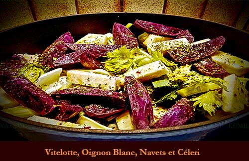 Vitelote, Oignon Blanc, Navet Et Celéri