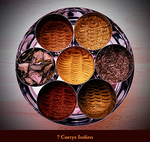 7 Currys Indiens