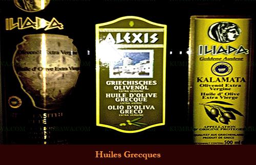Huiles Grecques