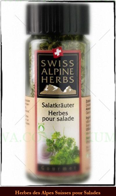 Herbes Pour Salade De Suisse