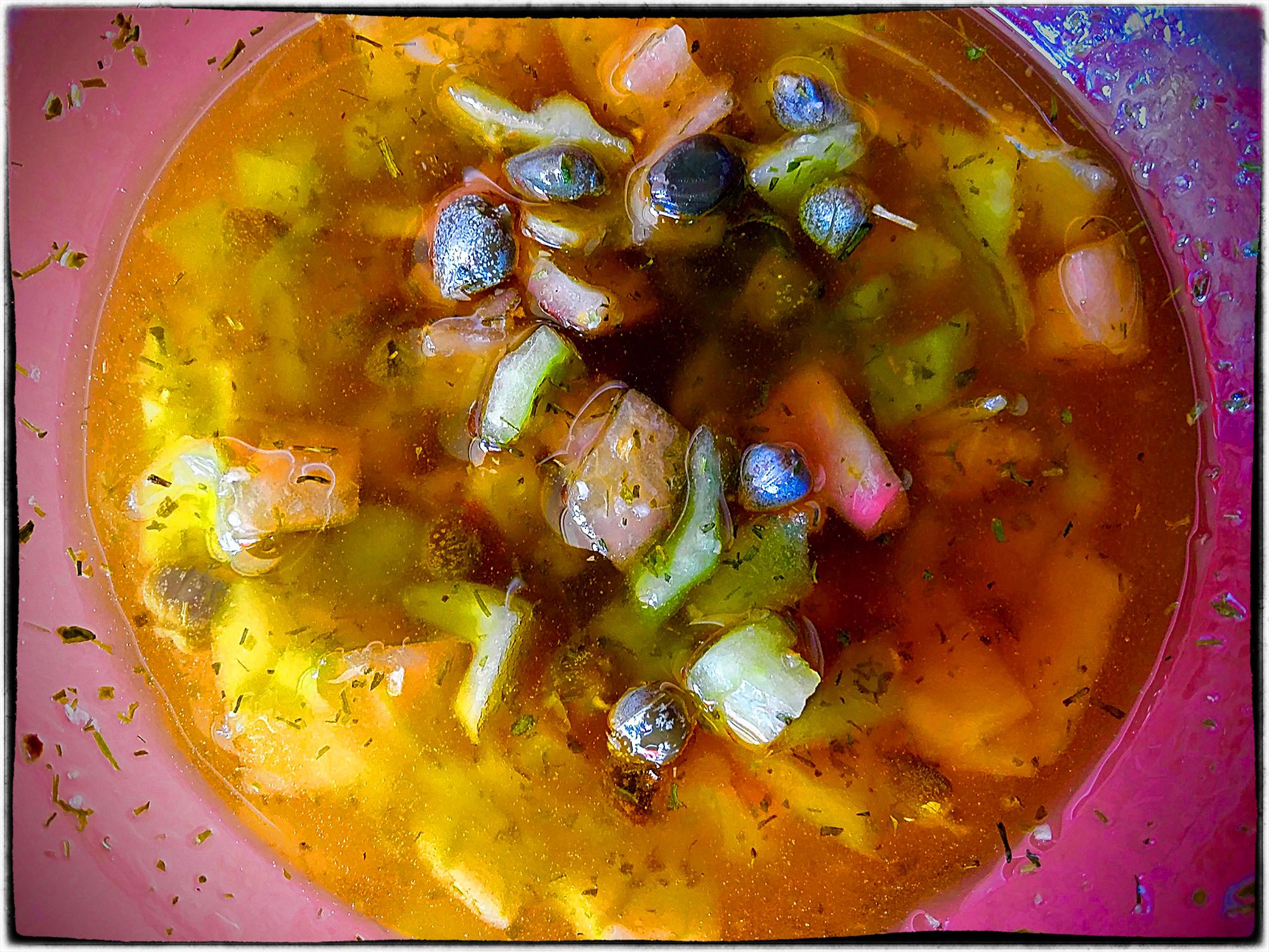 Sauce Vierge Aux Câpres Et Tomate Verte