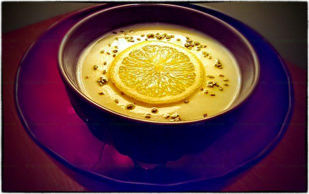 Velouté De Chou Fleur Citron Et Sésame