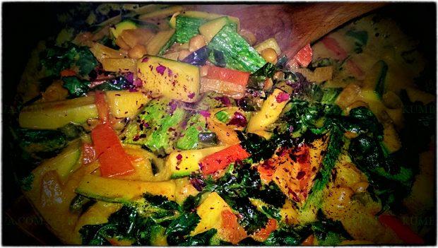 06 Korma Aux Légumes Braisés Sauce Au Tamarin Et Eau de Rose
